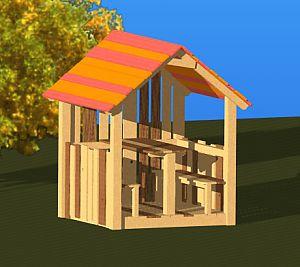 Otroška hišica - Viki