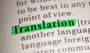 Strokovno prevajanje