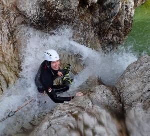 canyoning Bovec Kozjak