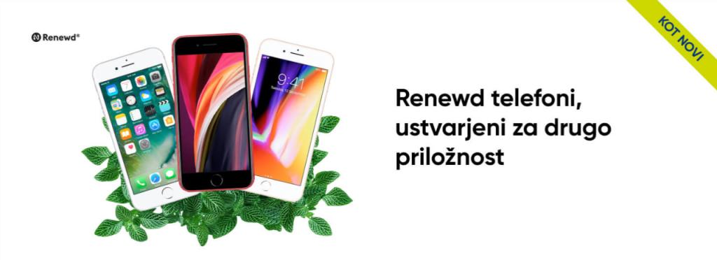 obnovljeni telefoni